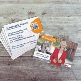 Visitenkarten Bernadette Weyland CDU