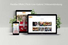 Webdesign von Bernadette Weyland